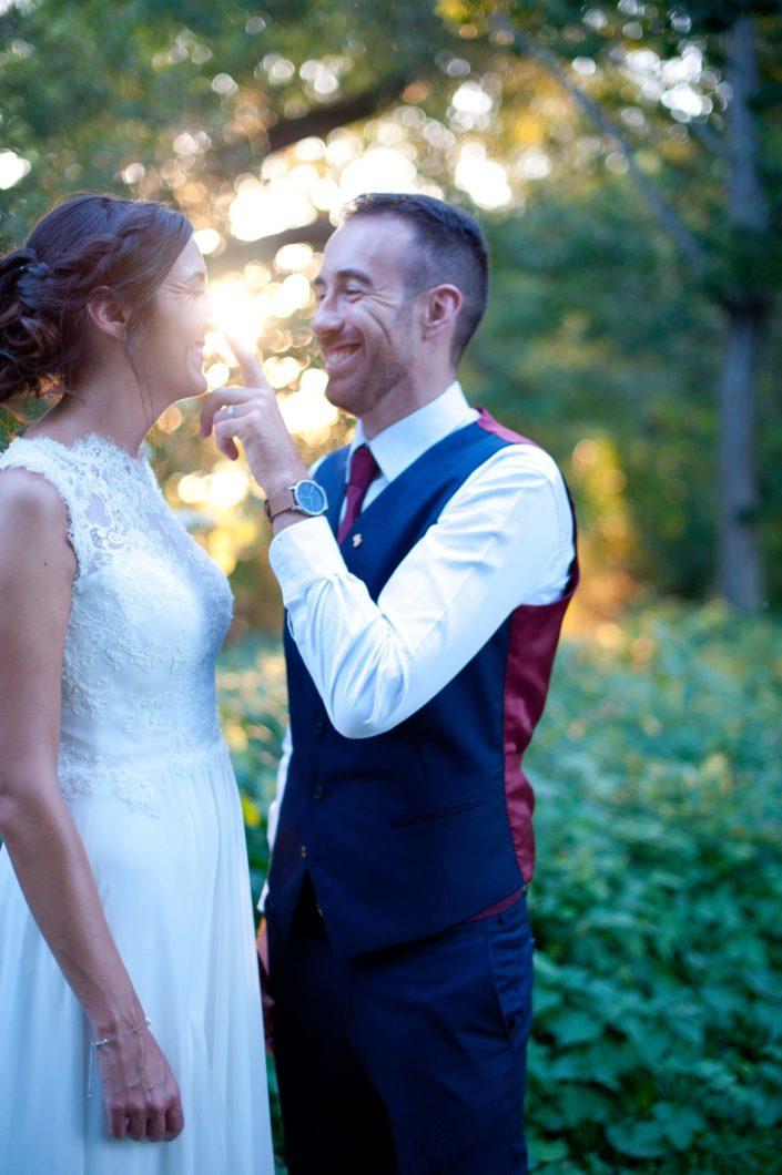 Mariage dans les Grottes de Foulon