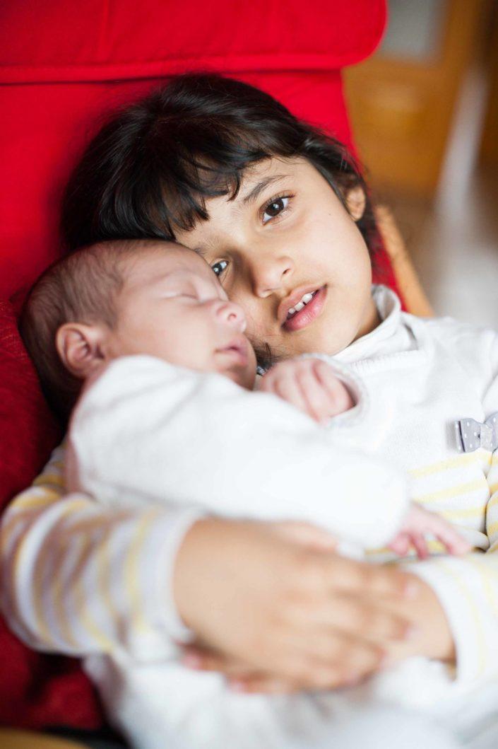 Photo de bébé au natruel, Orléans