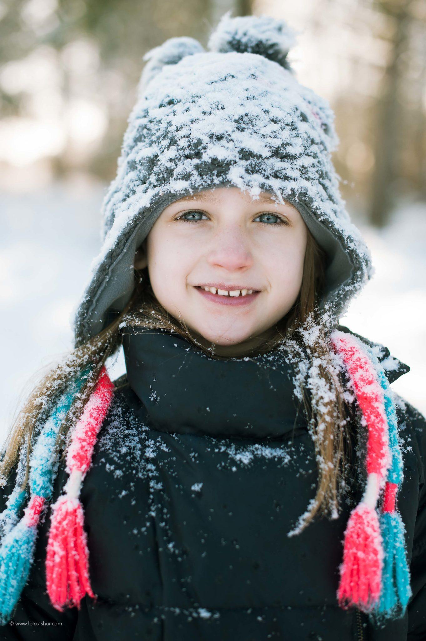 Sologne sous le neige