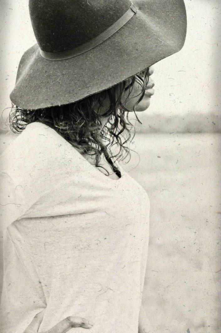Portrait femme retro