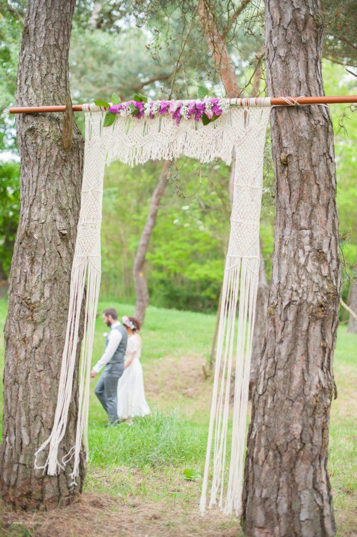 Mariage en exterieur