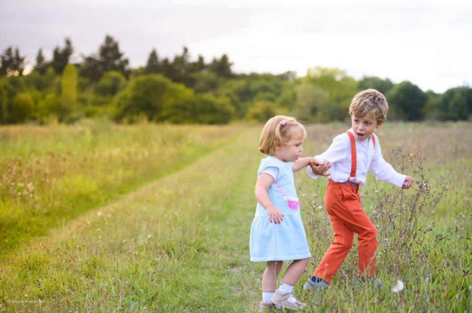 À la découverte de la nature avec les enfants