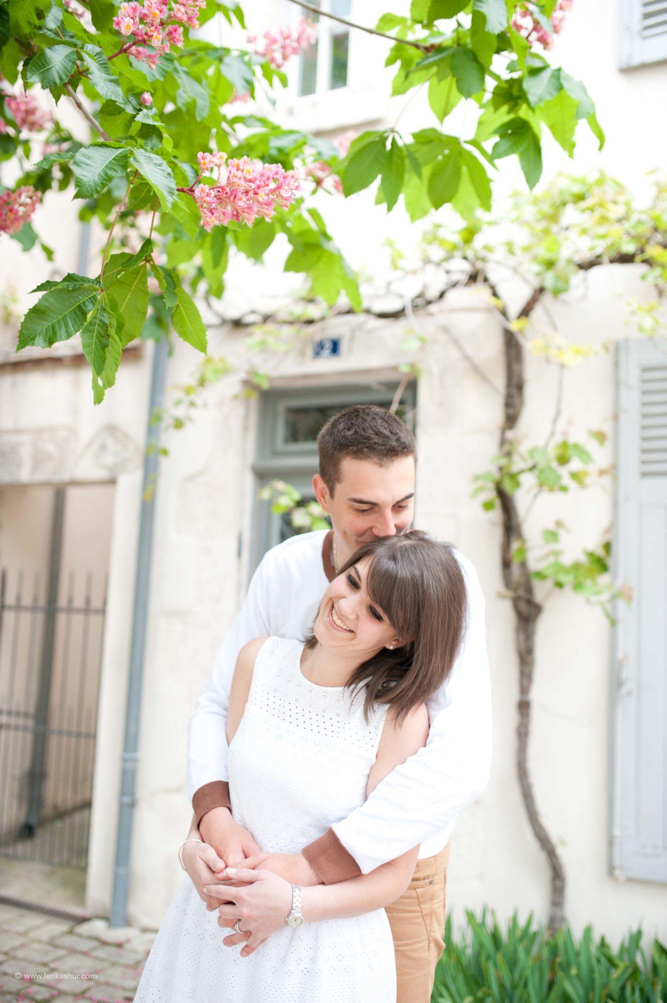 Session photo d'engagement, Orléans