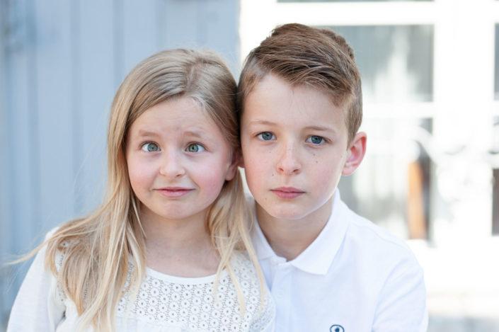 Séance photo avec les enfants à Orléans