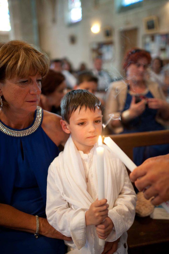 Céremonie de baptême