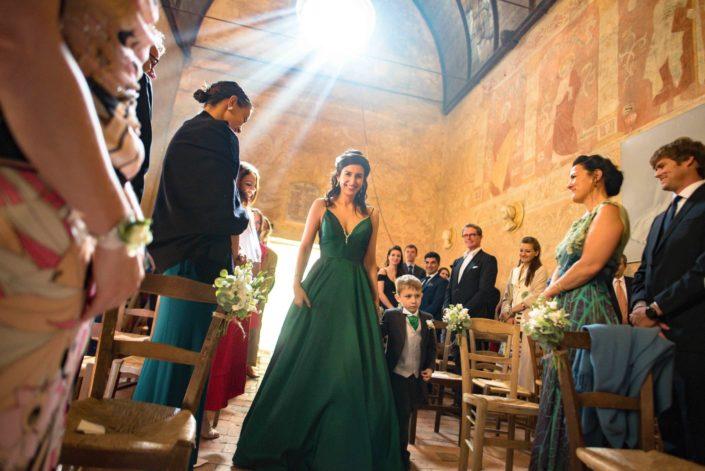 Céremonie réligieuse de mariage