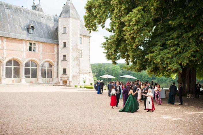 Vin d'honneur au Château de la Verrerie
