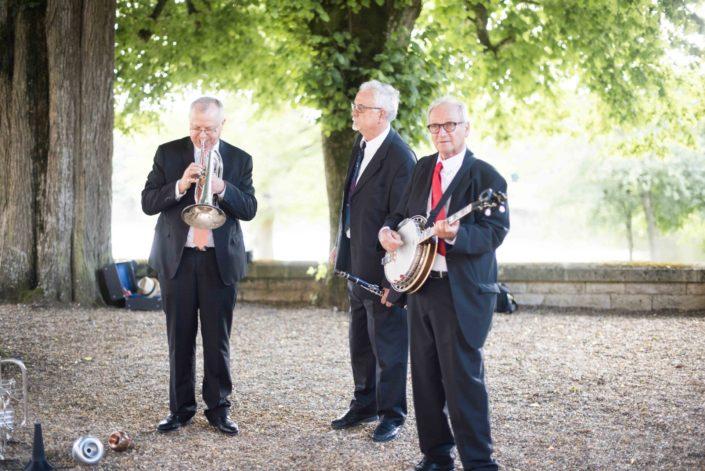Les musiciens au mariage