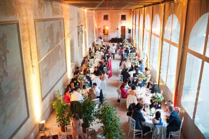 Salle de reception du Château de la Verrerie