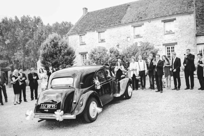 Ancienne voiture pour son mariage