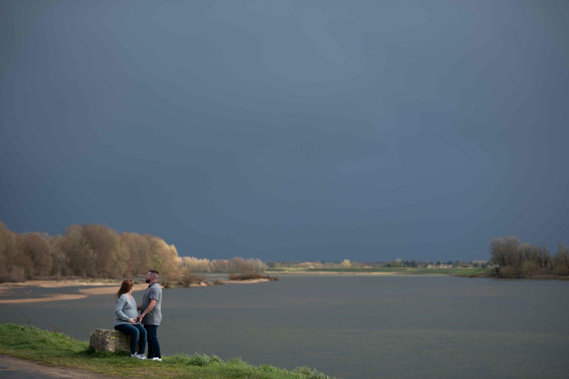Séance de photo couple, Blois